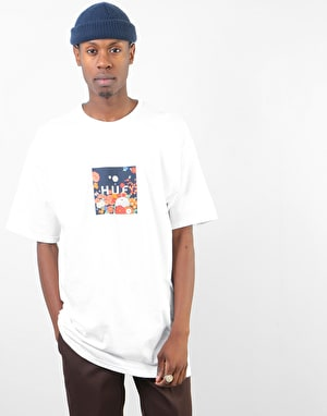 HUF Memorial Box Logo T-Shirt - White