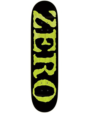 Zero OG Font Knockout Skateboard Deck - 8.25