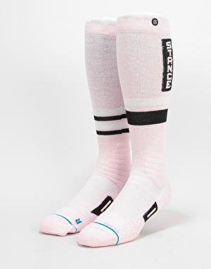 Stance Issue Park Snowboard Socks - Pink