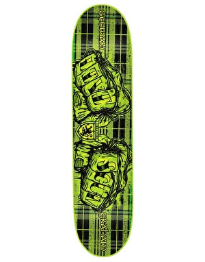 Creature Graham 'Ride for Roxanne' Livi Scum Skateboard Deck - 8.8