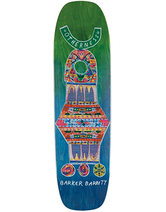 Otherness Barrett Sanctuary by Joe Roberts Skateboard Deck - 8.765""