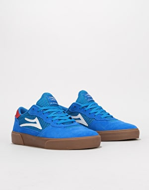 Lakai Cambridge Skate Shoes - Blue/Gum Suede