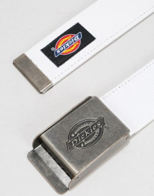 Dickies Webster Web Belt - White