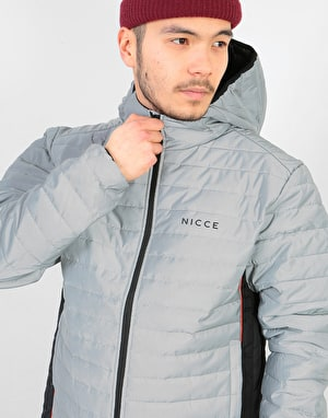 Nicce Chromo Jacket - Reflective/Black