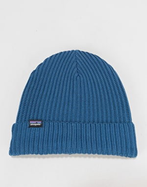 Patagonia Fisherman Rolled Beanie - Stone Blue