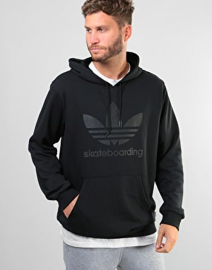 Adidas Clima 3.0 Pullover Hoodie - Black/Black