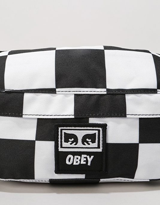 Obey Drop Out Sling Cross Body Bag - Checker