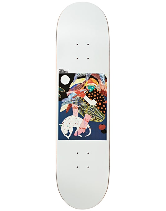 Polar Boserio Midnight Jam Skateboard Deck - 9""