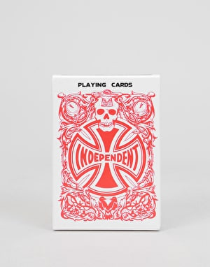Independent Hold Em' Playing Cards - Assorted