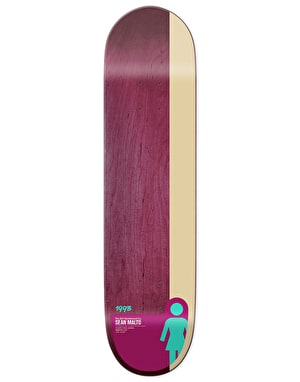 Girl Malto Tail Block  Skateboard Deck - 8.25