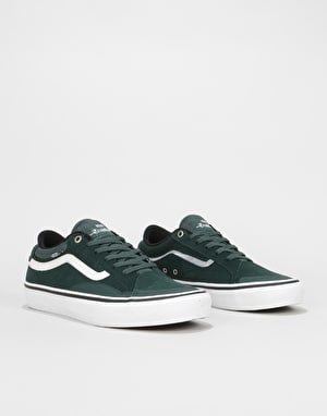 Vans TNT Advanced Prototype Skate Shoes - (Mesh) Darkest Spruce/True W