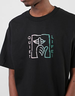 The Quiet Life Shatter T-Shirt - Black