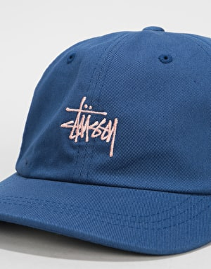 Stüssy Stock Low Pro Cap - Navy
