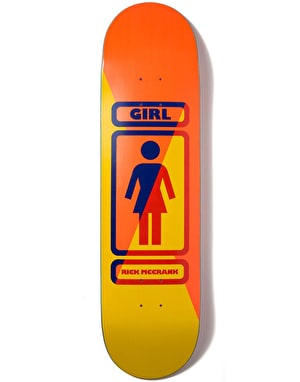 Girl McCrank 93 Til Skateboard Deck - 8.375