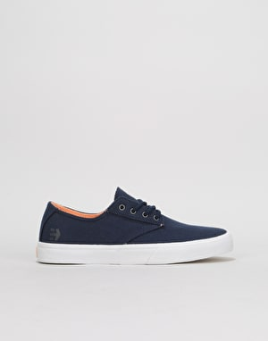 Etnies Jameson Vulc LS Womens Trainers - Navy