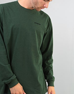 Patagonia Fitz Roy Trout L/S T-Shirt - Nomad Green