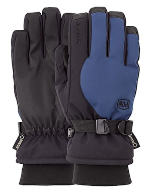 Pow Trench GTX 2019 Snowboard Gloves - Black/ Wing Teal