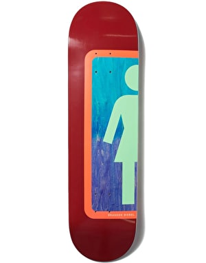 Girl Biebel Ombre OG Skateboard Deck - 8
