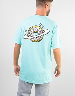 Skateboard Café Planet Donut T-Shirt - Icing Blue