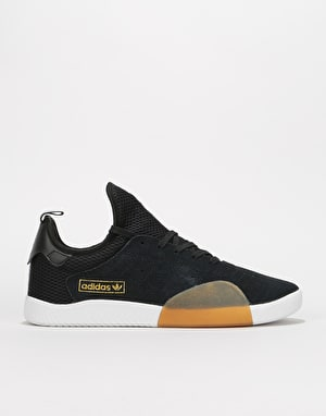 Adidas 3ST.003 Skate Shoes - Core Black/Lt Granite/White