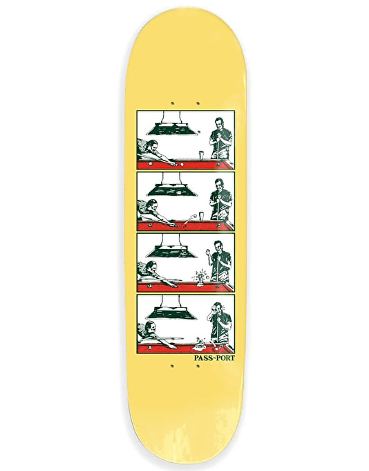 Pass Port Step By Step - Pool Skateboard Deck - 8.25""