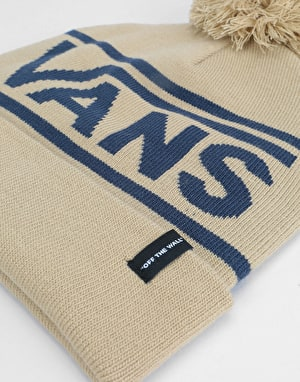 Vans Drop V Beanie - Khaki/Dress Blues