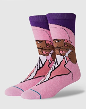Stance x Cam'ron Classic Crew Socks - Pink