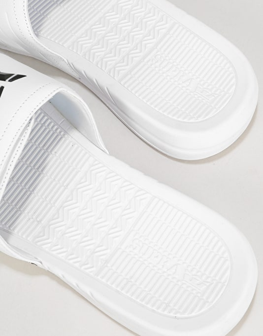 Supra Locker Slides - White
