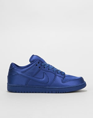 Nike SB Dunk Low TRD NBA Skate Shoes - Deep Royal Blue/Deep Royal Blue