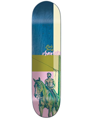 Chocolate Perez City Cowboys Skateboard Deck - 8.375