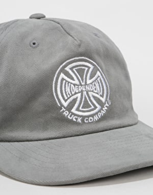 Independent TC Strapback Cap - Cool Grey