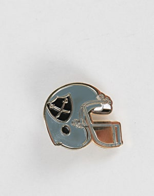 The Hundreds Helmet Pin - Silver