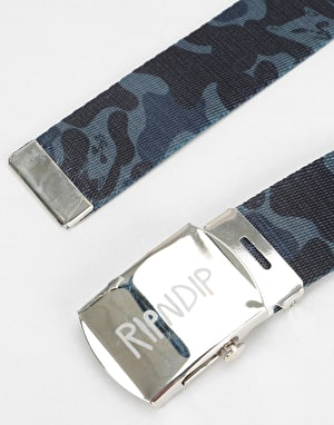 RIPNDIP Nerm Camo Web Belt  - Blackout Camo