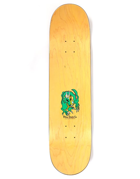 Polar Oskar Dragon Sunset Skateboard Deck - 8""