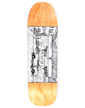 Polar Straight From The Hood Skateboard Deck - 1991 Shape 9.25