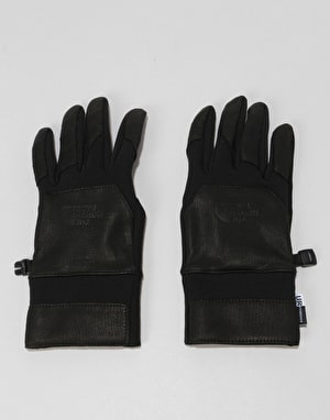 The North Face Etip Leather Gloves - TNF Black
