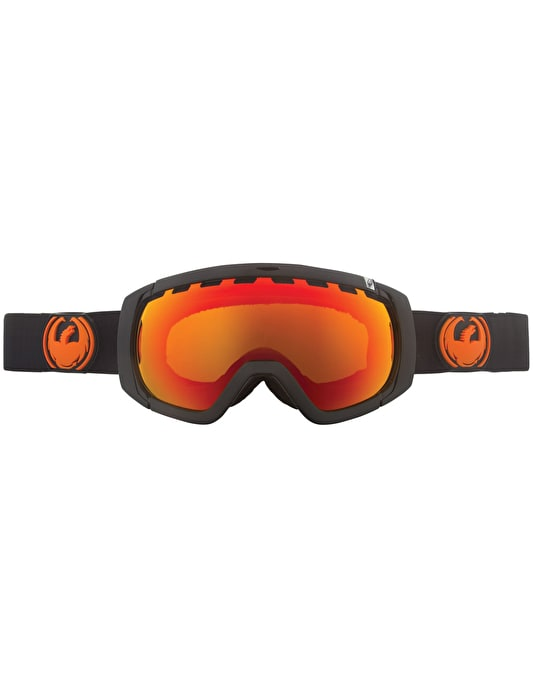 Dragon Rogue Snowboard Goggles - Jet/Red Ion