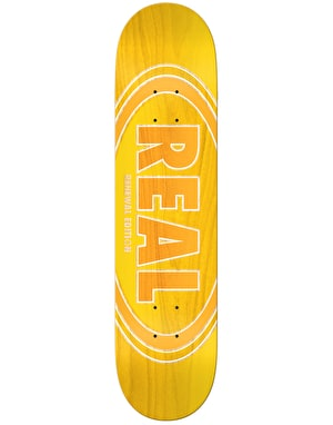 Real Oval Duo Fades Skateboard Deck - 8.25