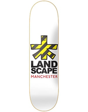 Landscape Manchester Cities Skateboard Deck - 8.25