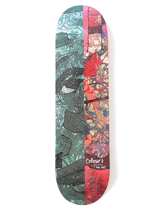 Colours Collectiv Hart Ali Dual Tone Skateboard Deck - 8.2""