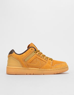 Nike SB Air Force II Low Premium Skate Shoes - Bronze/Bronze-Baroque B