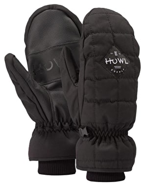 Howl Jed 2019 Snowboard Mitts - Black