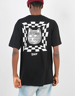 RIPNDIP Illusion T-Shirt - Black