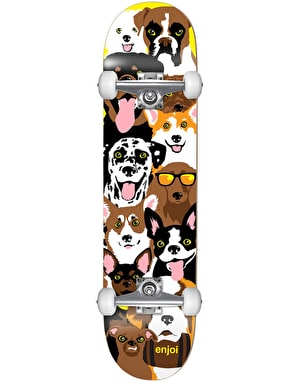 Enjoi Dog Collage Mini Complete Skateboard - 7.375