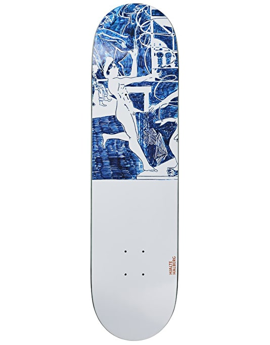 Polar Halberg Stage Three Skateboard Deck - 8.5""