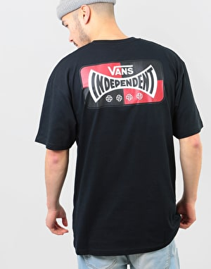 Vans x Independent Logo S/S T-Shirt - Black