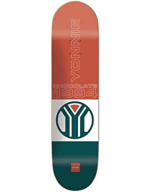 Chocolate Yonnie Sport Skateboard Deck - 8