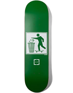 Chocolate Eldridge Don't Trash Skateboard Deck - 8.25