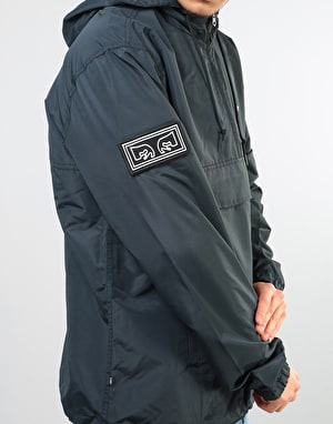 Obey Crosstown II Anorak Jacket - Black