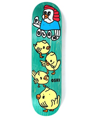 Polar Oskar Chicken Mama Skateboard Deck - 8.25